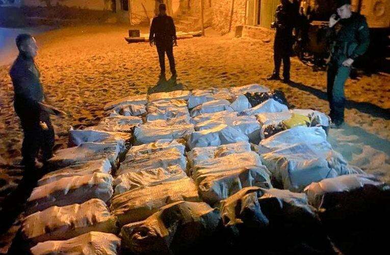 GNB incautó 40 sacos de marihuana en Chichiriviche