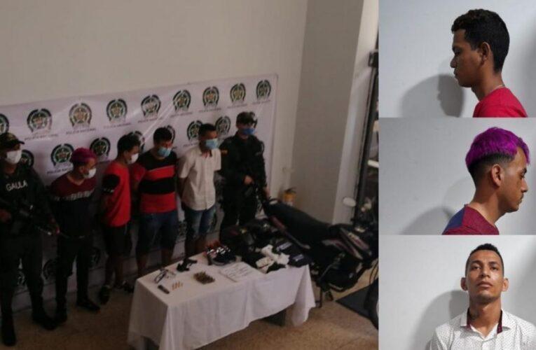 Presos 3 venezolanos por atentado con granada en Colombia