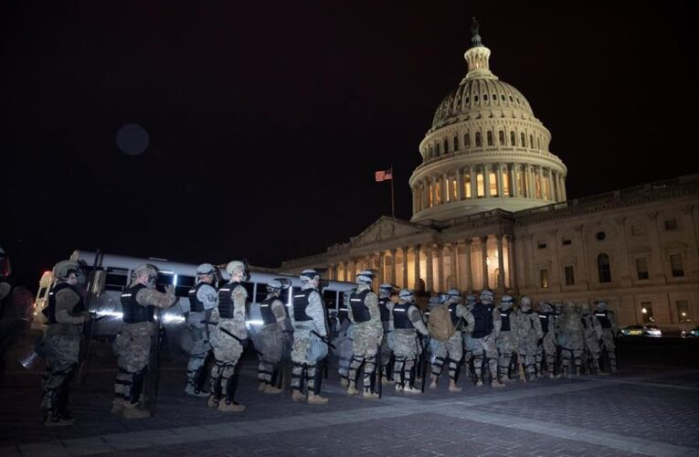 Despliegan 6.000 guardias nacionales en Washington