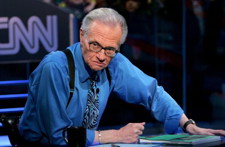 Murió por covid el presentador Larry King