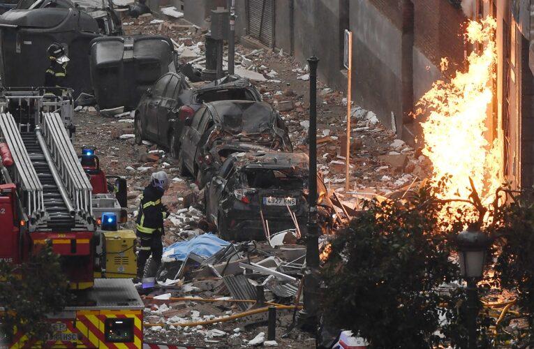 Suben a 4 los muertos por explosión en Madrid