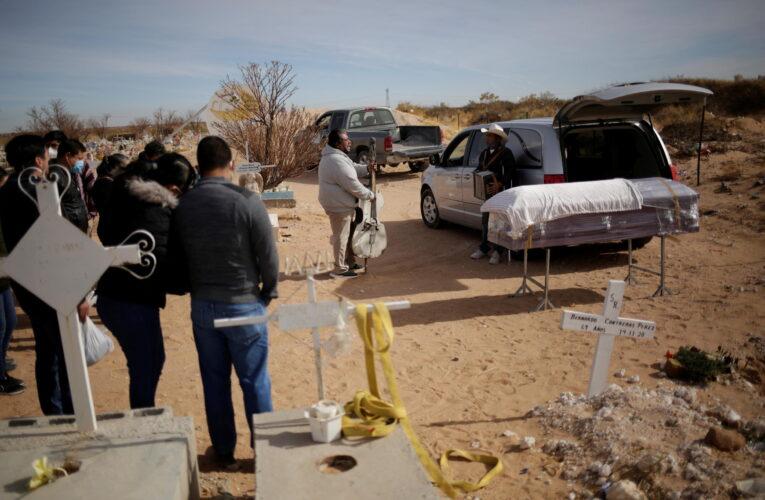 Covid mató a 16 miembros de una familia en México