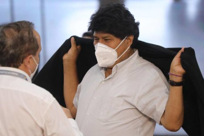 Evo Morales hospitalizado por Covid