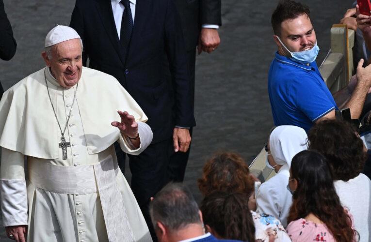 "Papa pide ""unidad"" a la Iglesia venezolana"