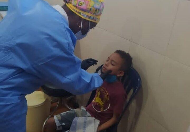 Jornada de despistaje de covid-19 en La Sabana