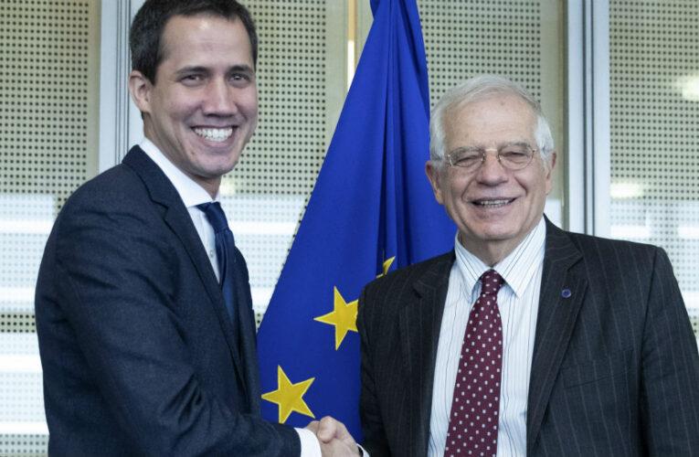 UE reafirma su apoyo a  Guaidó
