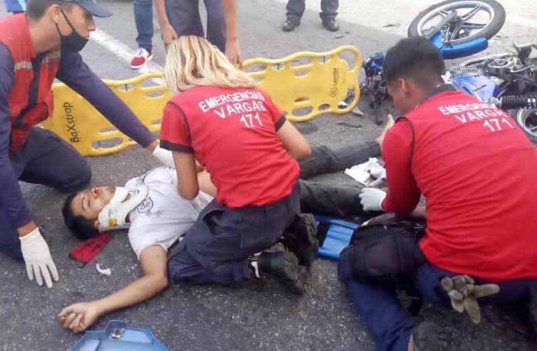 Fallece motorizado al chocar contra un camión