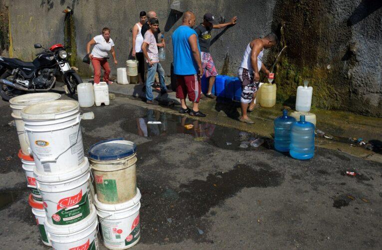 Cedice: 99% de la población sufre escasez de agua