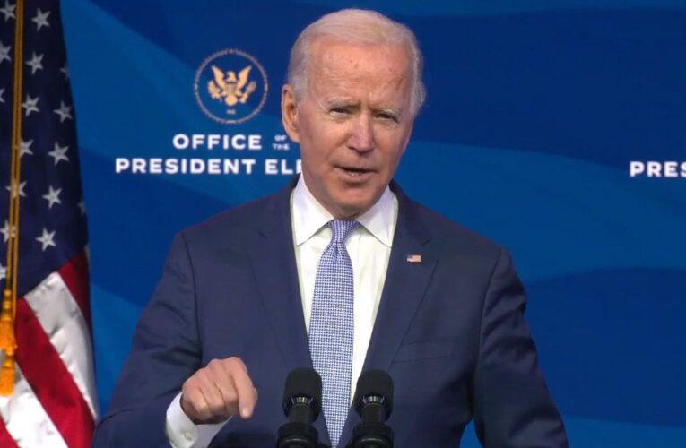 Joe Biden: Este caos no representa a los estadounidenses