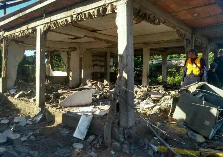 3 heridos por explosión de bombona en Monagas