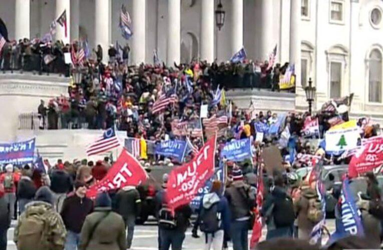 Seguidores de Trump irrumpieron en el Capitolio