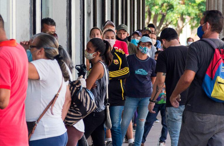 5 muertes y 316 contagios por covid en el país