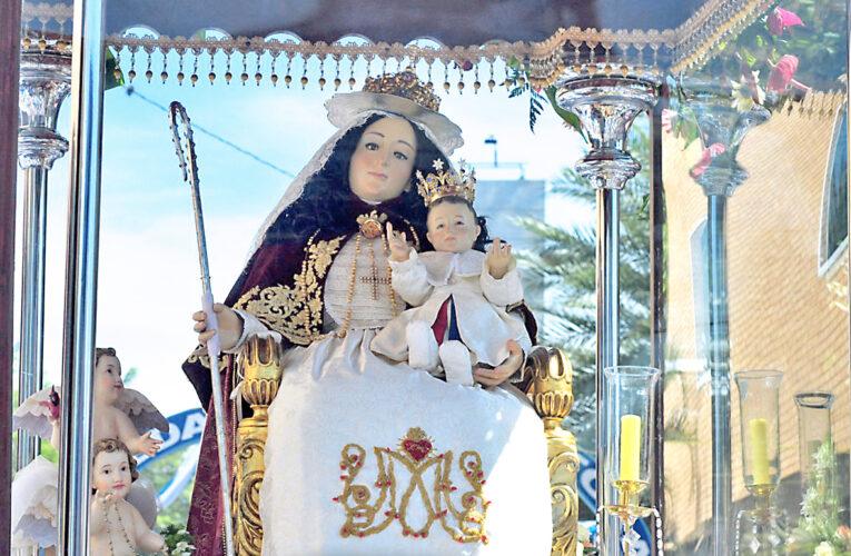 Devotos se preparan para bajada virtual de la Divina Pastora