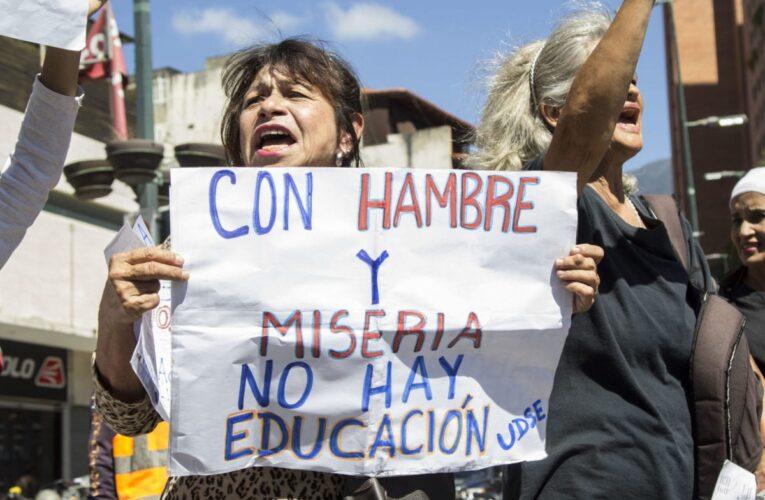 Protestas de docentes se han quedado sin respuestas