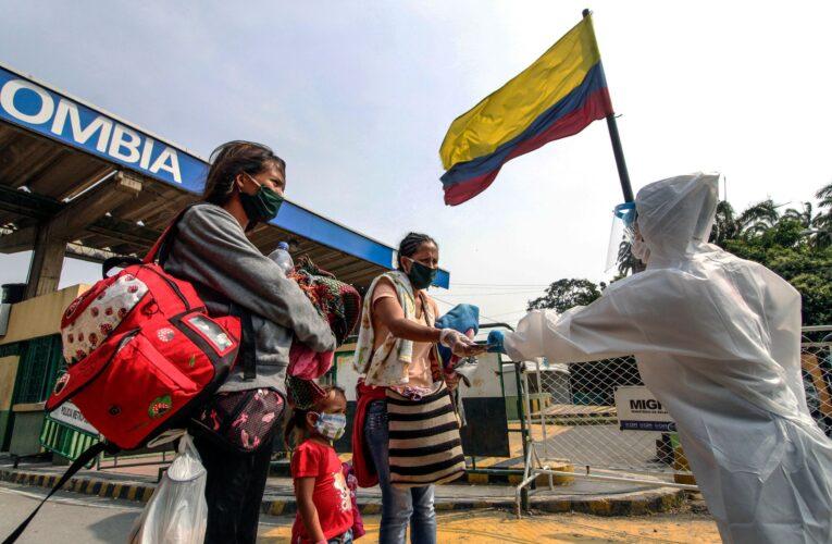 Duque pidió ayuda para vacunar venezolanos