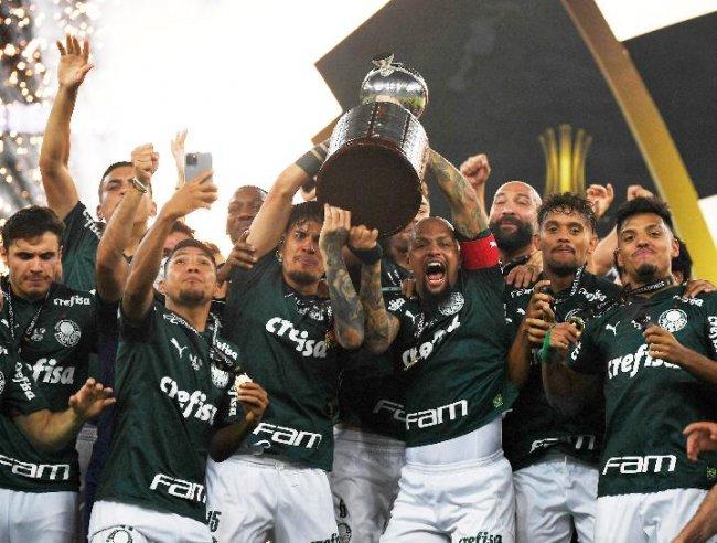 Palmeiras se coronó campeón de la Libertadores