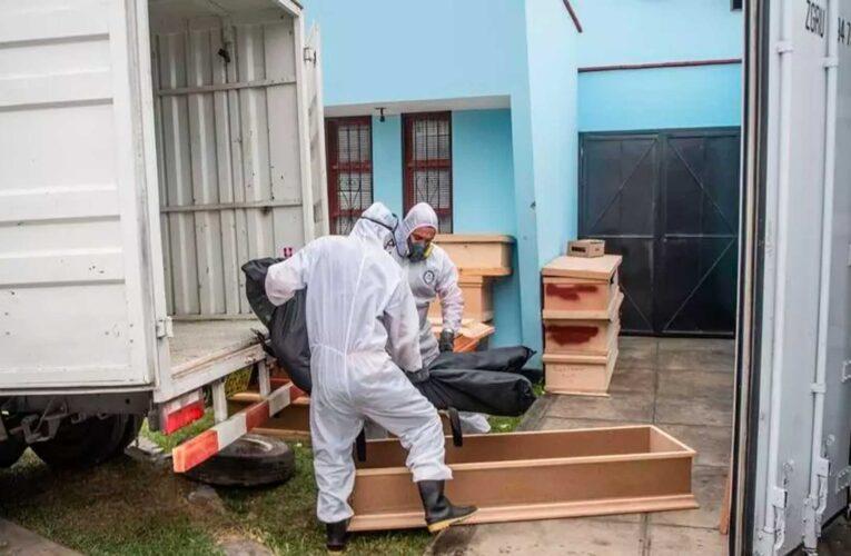 Se disparan los fallecimientos en Perú