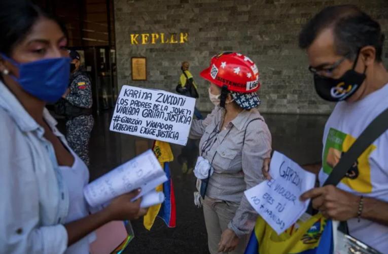 Protesta en Caracas por venezolana violada en Argentina