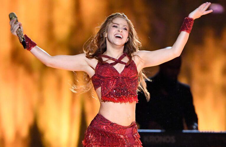 Shakira vendió todas sus canciones