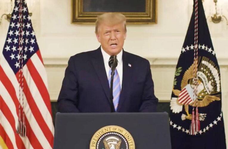 Trump reconoció su derrota y prometió una transición tranquila
