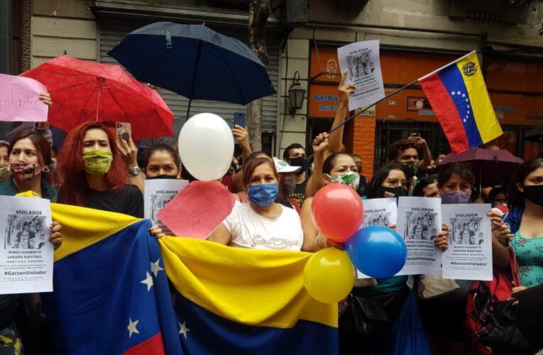 Exigen justicia para venezolana violada en Buenos Aires