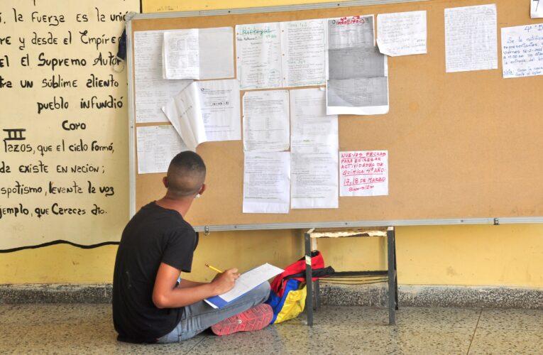 Al Vargas regresarán a clases sin luz, sin agua y sin todos los profesores