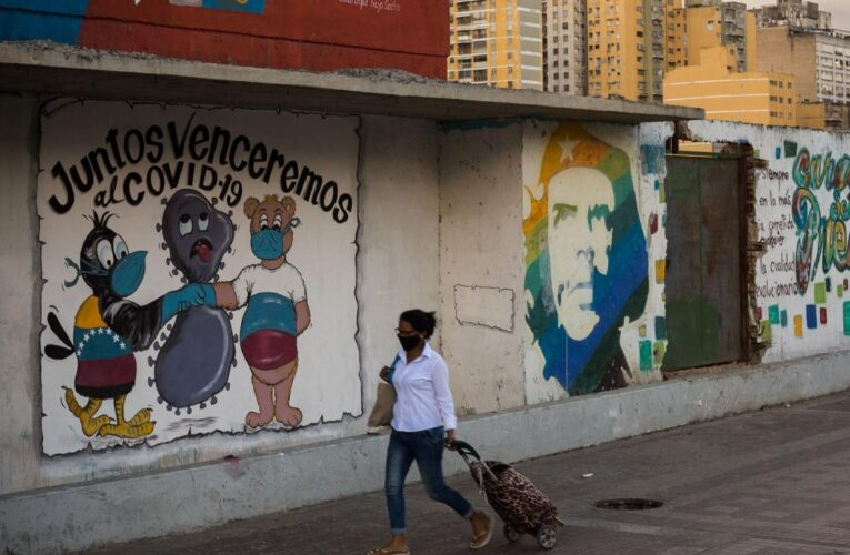 Venezuela superó las 1.300 muertes por covid