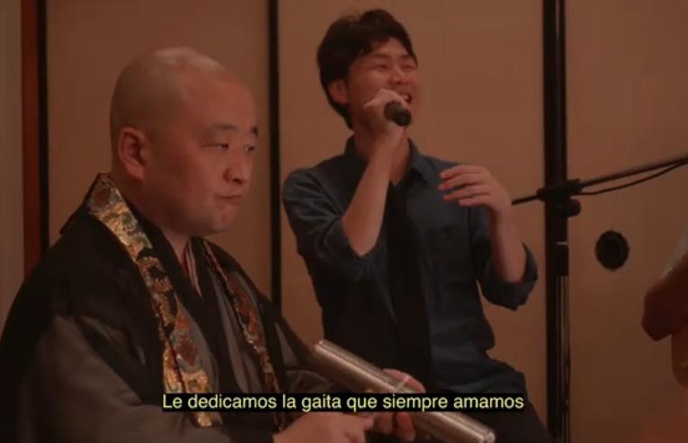 Así suena la gaita en Japón