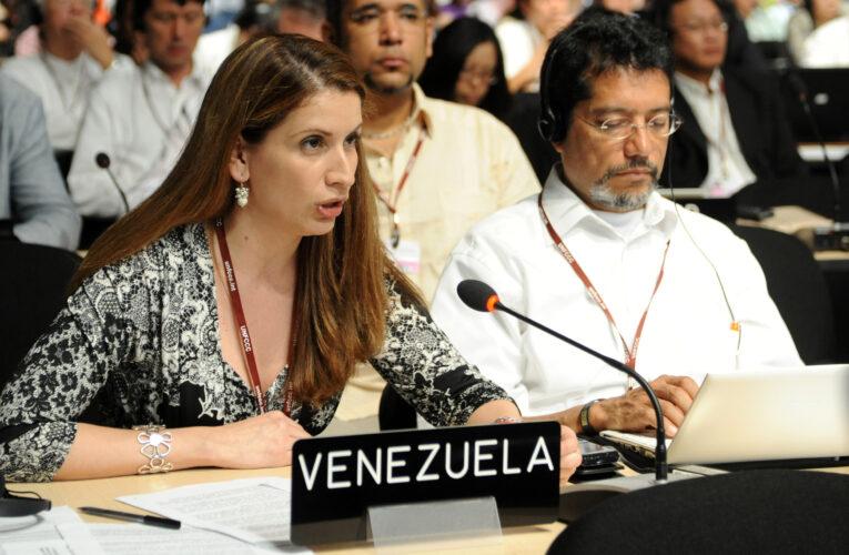 UE declara non grata a embajadora de Venezuela