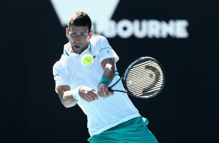 Djokovic y Muguruza sólidos en Australia