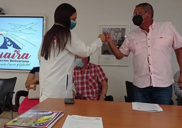 Misión médica cubana de La Guaira estrena directora