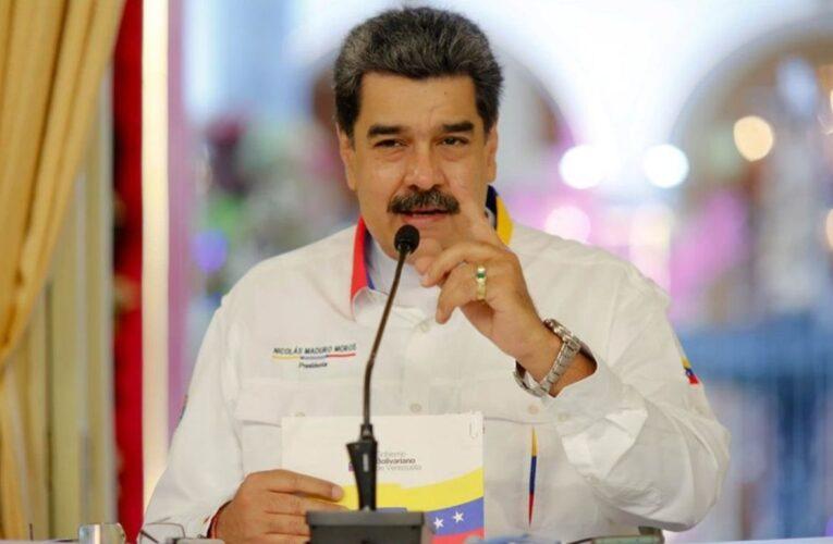 Maduro a la UE: O rectifican o no hay más nunca diálogo