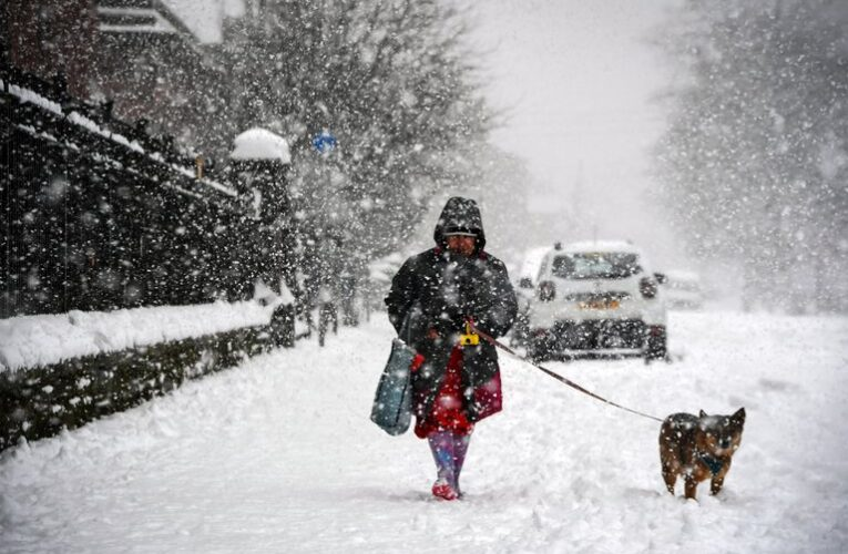 Reino Unido registra temperatura más baja en 25 años