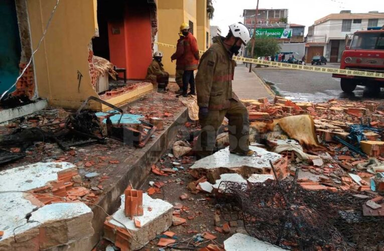 Otra bombona explotó en Barquisimeto al amanecer