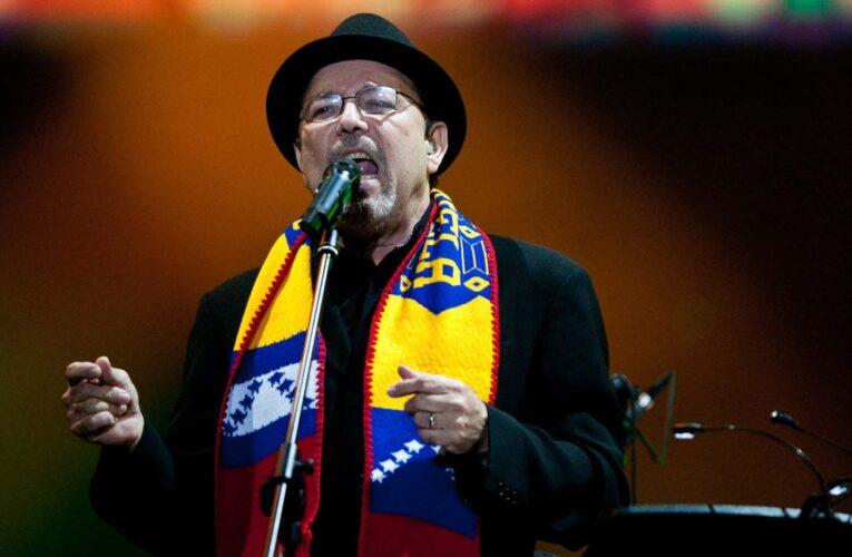 Rubén Blades: Sufro por la situación de Venezuela