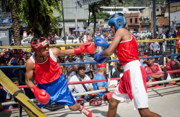 Tanaguarena vibró con el boxeo comunitario