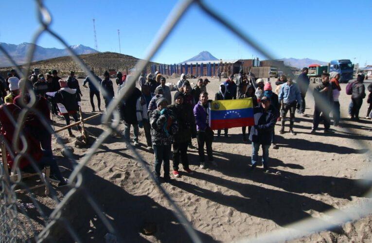 Crisis humanitaria en la frontera de Chile por llegada de venezolanos