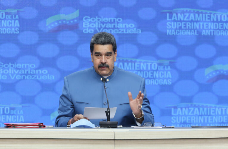 Maduro creó la Superintendencia Nacional Antidrogas