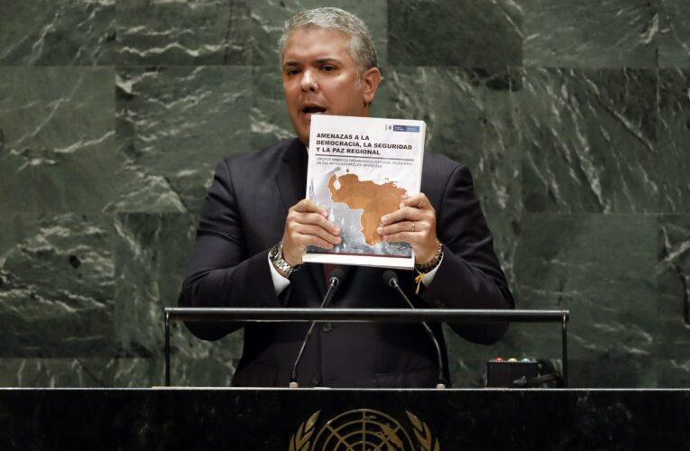 """Duque pidió no ser indiferentes a """"crímenes atroces"""" en Venezuela"""