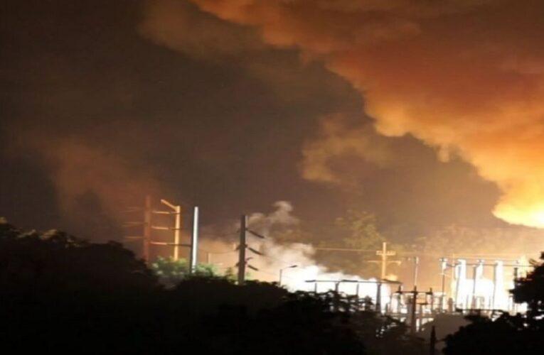 Maracaibo sin luz por explosiones en 3 subestaciones