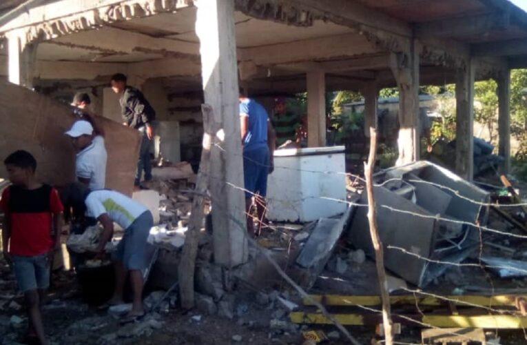Muere mujer por explosión de bombona en Monagas