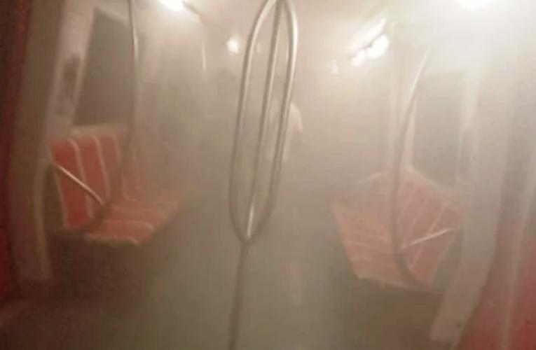 Incendio en el Metro de Caracas deja 8 afectados