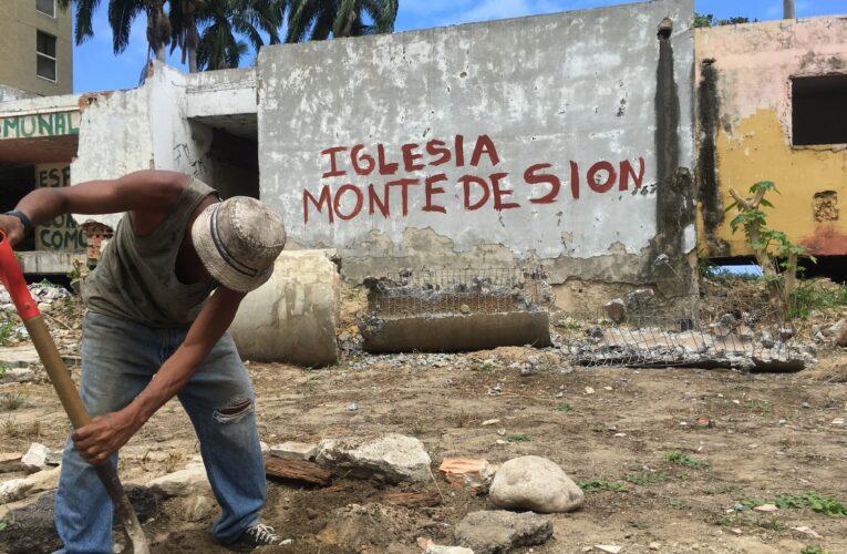 Iglesia Monte de Sion rescata terreno abandonado