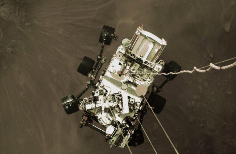 Perseverance comenzó a mandar fotos a color desde Marte