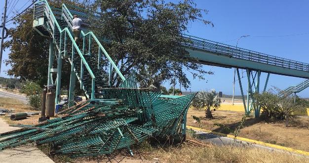 Pasarelas de la Páez, La Aviación y de El Cardonal serán reparadas