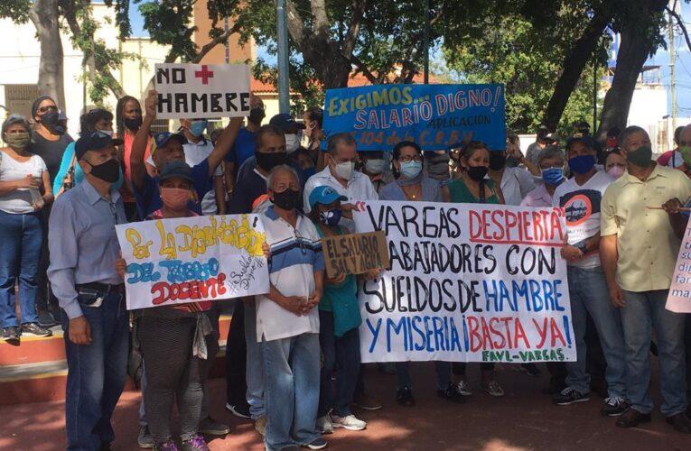 Trabajadores en la carraplana por salarios hambreadores