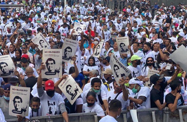 Gobierno organiza concierto para pedir liberación de Alex Saab