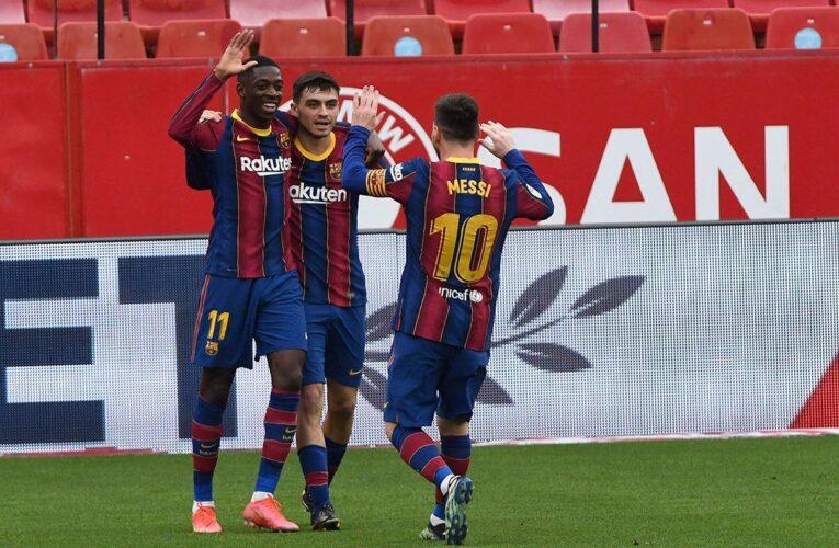 Barcelona venció al Sevilla