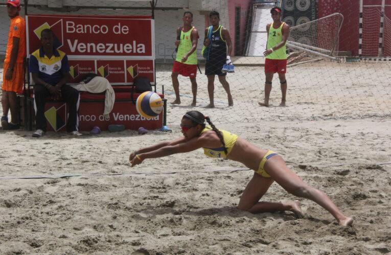 Voleibol playa se prepara en Valencia para medirse a Ecuador