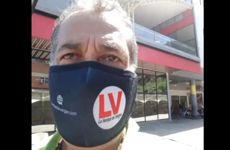 Detienen a periodista de La Verdad mientras cubría acto de mujeres